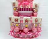 torta spiedini nascita femmina