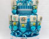 torta spiedini nascita maschio
